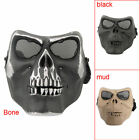 Airsoft Paintball Full Face Protection Skull Mask Outdoor Game Tactical Gear Hot