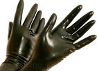 100%Natural Latex Rubber Five-gloves waterproof gentleman Lovely