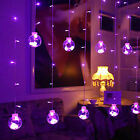LED Wish Ball String Curtain Lights Fairy Lamp Xmas Wedding Party Festival Decor