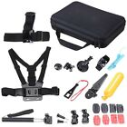 26in1 Accessories kit Head Chest Mount Floating Monopod For GoPro 1 2 3 4 Camera