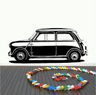 MINI WALL ART DECAL STICKER CHOOSE FROM 21 DIFFERENT COLOURS AND 3 SIZES