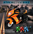 Childs Kids 12V Ride on Bike Motorbike Electric Battery Motorcycle Car In Stock