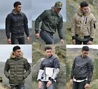 Mens 4Bidden Designer Bomber Puffa Fur Hooded Camo Reflective Padded Jacket Coat