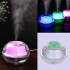 MINI Clear Ultrasonic Aroma Humidifier Air Diffuser Purifier Lonizer Atomizer