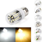New GU10 G9 E14 E27 B22 E12 30LED 5733SMD Corn Bulb Light Lamp Black PCB 220V