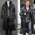Once Upon A Time Captain Hook Killian Jones Attire Suit Outfit Costume Cosplay