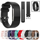 Replacement Sports Silicone Wrist Strap Watch Band Bracelet For Fitbit Charge 2