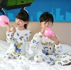 Cartoon Characters Kids Toddler Baby Boys Girls Pajamas Set Clothes 3-8 year old