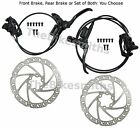 Tektro HD-T530 Auriga Hydraulic Disc Bike Brake Black Front/Rear/Pair Rotor 160