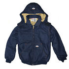 Mens Rasco FR Hooded Quilted Jacket NFPA 2112 Certified Flame Resistant 5 colors