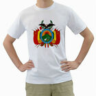 New Bolivia Bolivian Coat Of Arms for Men's White T-Shirt FREE SHIPPING
