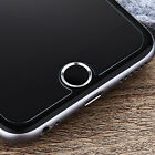 Touch ID Home Button Key Sticker Metal Ring Circle Cover For iPhone 5S 6S 7 Plus