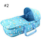 Newly Baby Moses Basket Safety Newborn Travel Bassinet Infant Nursery Bedding