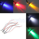 50/100Pcs 12V 6mm Red/Yellow/Blue/Green/White Car Boat Indicator Light Lamp EW