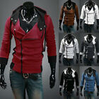 Fashion Creed Hoodie Slim Fit Tops Men's Cosplay For Assassins Jacket Costume