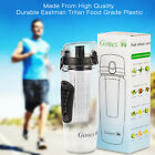 900ml Fruit Infuser Water Bottle Camping Water Bottle Tritan Plastic & BPA Free