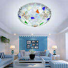 Tiffany Style 40CM LED Shell Ceiling Lamp Balcony Pendant Light Fixtures CL146