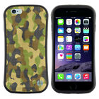 Anti-Shock Tpu Case Bumper Cover For Apple iPhone Camouflage cloth pattern