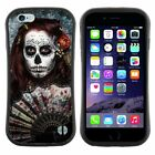 Anti-Shock Tpu Case Bumper Cover For Apple iPhone day of the dead