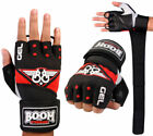 Fingerless Gel Padded Wheelchair Gloves Bus Driving Gym Training Cycling Biker