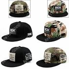 DGK Camouflage Hats Hip Hop Snapback Adjustable Unisex Cotton Baseball Cap E2