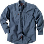 Dri Duck Brick 2 Ply Washed Button Down Mens