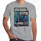 Miami Vice 80s Crockett & Tubbs T-shirt 100% Cotton,  7 colours to choose