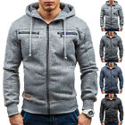 Men Men's Outwear Winter Hoodie Warm Coat Jacket Slim Hooded Sweatshirt Sweater