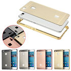Thin Metal Slim Brushed Metal Frame Case PC Back Cover Skin For Huawei P9 Lite