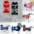 NE Dog Pet New Sweater Soft Cozy Warm Knit Coat Apparel Clothes Small to Large