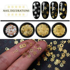 3D Gold Decal Stickers DIY Nail Art Decoration Tips Stamping Manicure Stickers