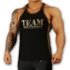 MENS MILITARY BLACK / KHAKI  BODYBUILDING VEST  STRINGER WORKOUT GYM CLOTHING