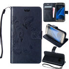 Slim Flip Magnetic Leather Wallet Stand Case Cover For Samsung Galaxy Avant G386
