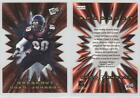 2001 Press Pass Breakout #B25 Chad Johnson Cincinnati Bengals Football Card