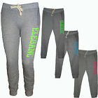 Damen Sporthose Freizeit Jogging Trainingshose Joggers Pants Fitness 36-44 Neu