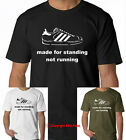 MADE FOR STANDING NOT RUNNING Casual Culture 80s 90sTerrace Football tshirt tee