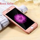 Ultra thin 360° Full Tempered Glass + Acrylic Hard Case Cover iPhone 6 6S 7 Plus