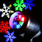 Colorful Snowflake Projector Outdoor Indoor Lamp LED for Christmas Decoration