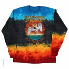 LED ZEPPELIN-ICARUS 1975-TIE DYE LONG SLEEVE-TSHIRT M-L-XL-XXL  NEW