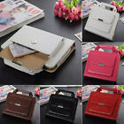 Buckle Leather Stand Smart Case Cover Handbag Wallet Bag Skin For iPad PC Pro
