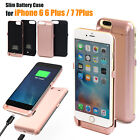 12000mAh External Battery Power Bank Charger Case Cover Fr iPhone 7 6 6s Plus