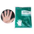 100pcs disposable surgical medical and household food transparent gloves M