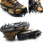 Mountaineering Hiking Crampons 18 Teeth Outdoor Antislip Ice Snow Shoe Spikes