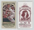 2011 Topps Gypsy Queen Mini Red Back #75 Albert Pujols St. Louis Cardinals Card