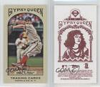 2011 Topps Gypsy Queen Mini Red Back #27 Roy Oswalt Philadelphia Phillies Card
