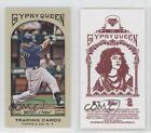 2011 Topps Gypsy Queen Mini Red Back #145 Jason Bartlett San Diego Padres Card