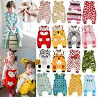 "Vaenait Baby Toddler Kids Boys Girls Plush Fleece Sleepsack""Mf 34Style"" 1T-7T"