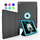 Shockproof Heavy Duty Rubber Defender Hard Stand Case Cover For iPad Mini 1 2 3