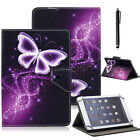 "Pretty Butterfly Leather Case Cover For 7"" 7.9"" 8"" 9"" 9.7"" 10.1"" inch Tablet ALL"