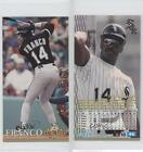 1994 Fleer Extra Bases #46 Julio Franco Chicago White Sox Baseball Card
